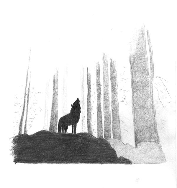 A fami caccia 'u lupu d'u vòscu (Hunger will get the wolf out of the woods)