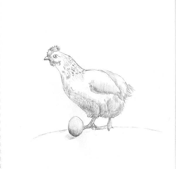 Mègghiu òji l'òvu ca domani 'a gajina (Better today the egg, than tomorrow the hen)