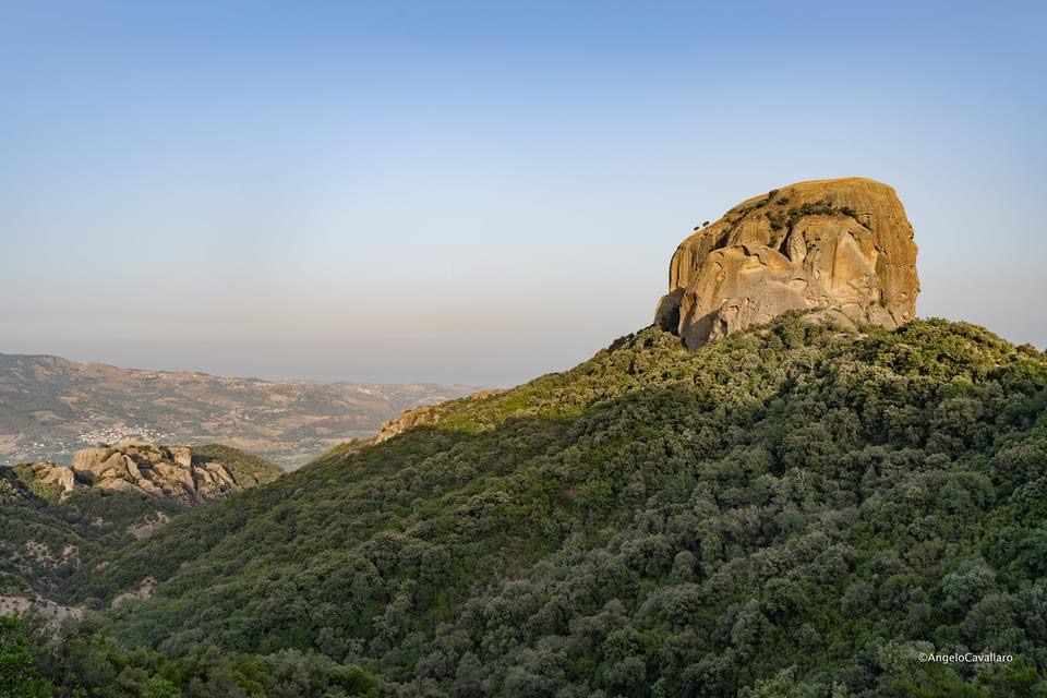 The most famous monolith in Calabria