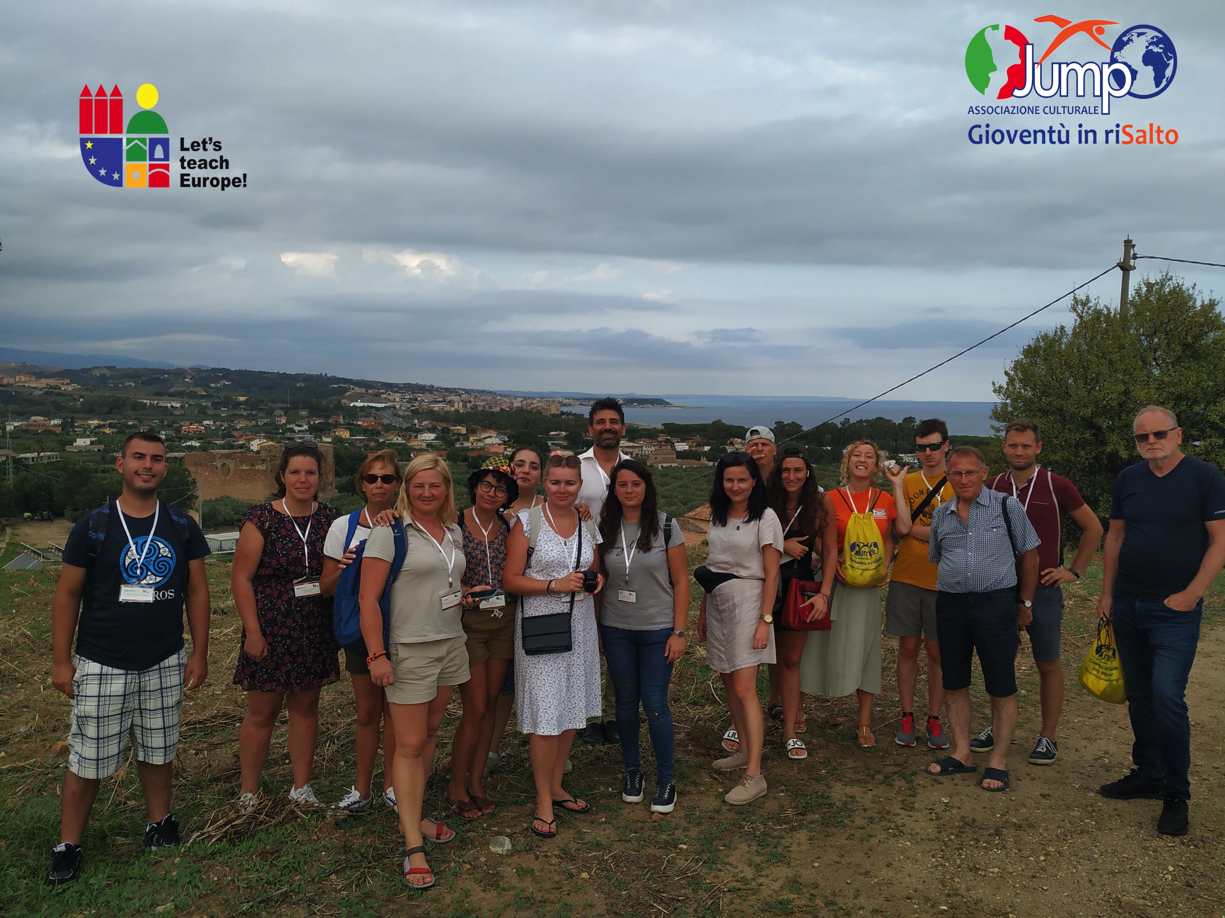 After a year of covid lockdowns: LTT 1 realized in Italy! The full experience of our delegations in the Calabria region