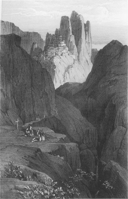 Pentedattilo by Edward Lear
