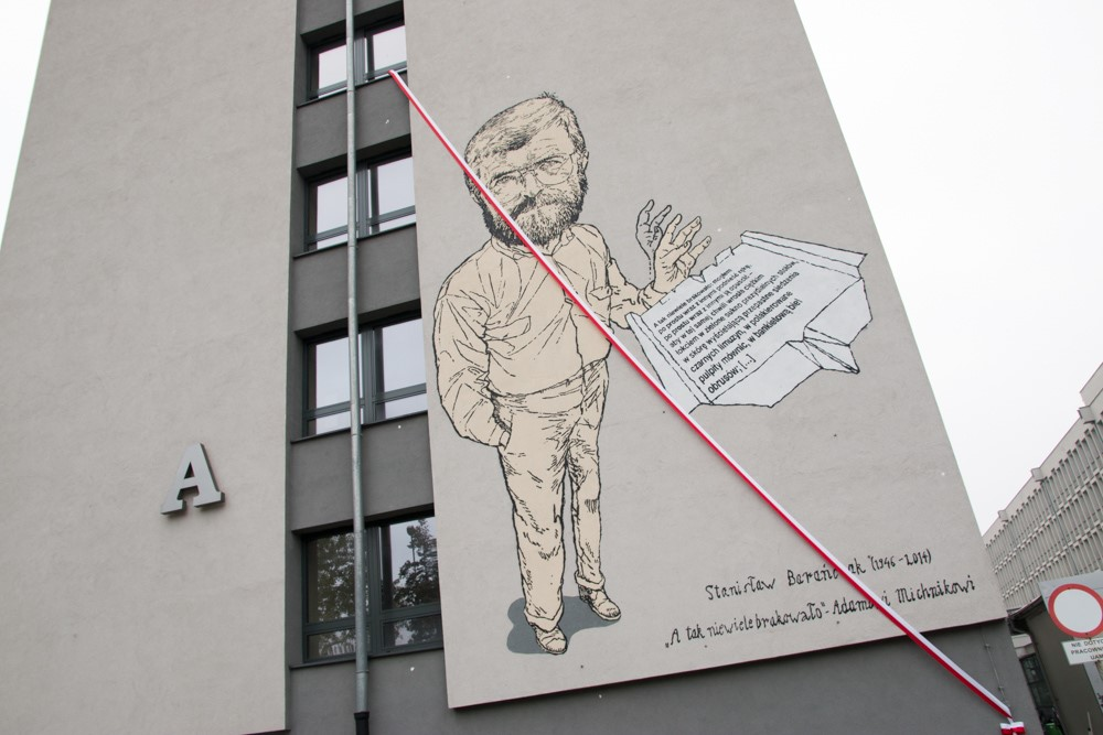 STANISŁAW BARAŃCZAK – THE CENSORED POET FROM POZNAŃ, WHOSE POEMS YOU CAN FIND ON CITY MURALS TODAY